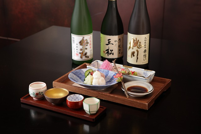 Sushi, Japans, Food, Rice Wine