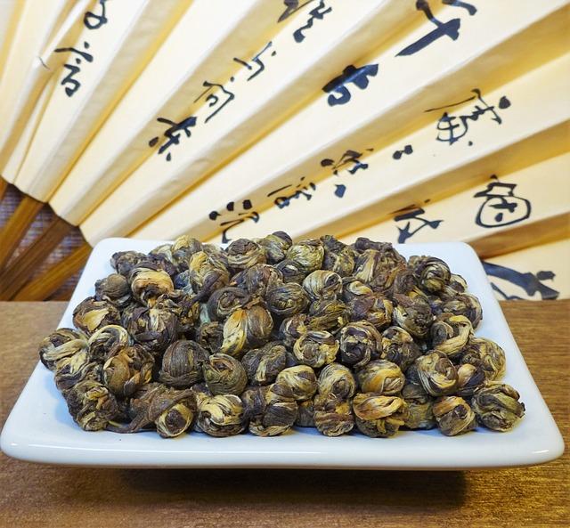 Tee, White Tea, Jasmine Tea, Jasminpearls, Asia