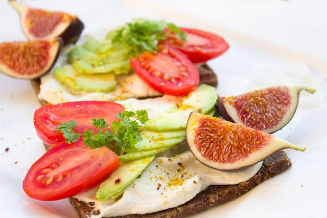 Bread, Jause, Snack, Healthy, Fruit, Vegetables