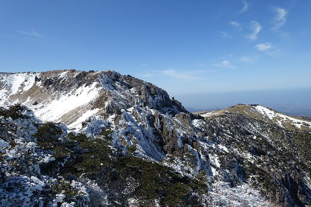Winter, Snow Mountain, Jeju Island, Republic Of Korea