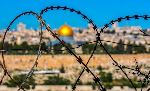 Barbed Wire, Jerusalem, Holy Land, Temple, Israel