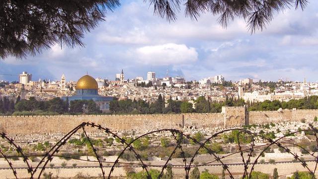 Jerusalem, Israel, Dome Of The Rock, Golden Dome