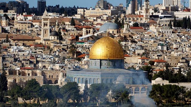 Israel, Dome Of The Rock, Jerusalem, Palestine, Holy