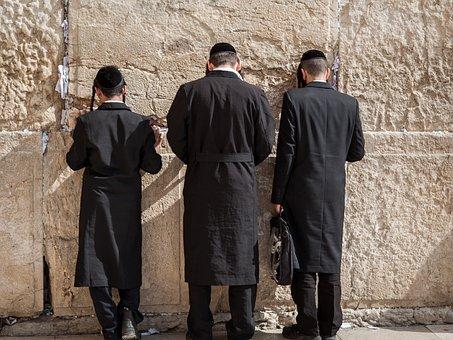 Western Wall, Jerusalem, Jews, Pray, Orthodox, Holy