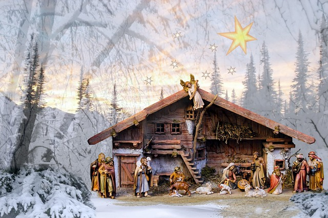 Texture, Crib, Jesus Birth, Christmas Eve, Christmas