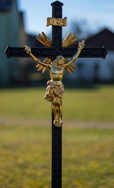 Jesus, Jesus Christ, Cross, Religion, Sculpture, Statue