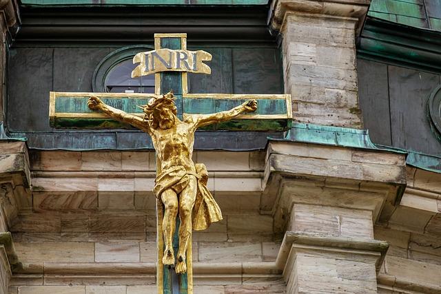 Cross, Dom, Faith, Religion, Architecture, Jesus