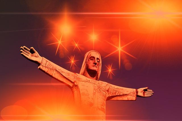 Jesus, Statue, Fig, Sculpture, Metal, Art, Jesus Christ