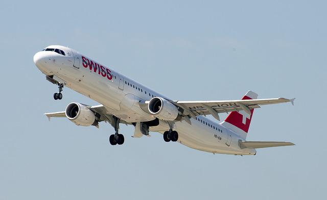 Airbus A321, Swiss Airlines, Airport Zurich, Jet