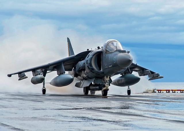Av-8b Harrier, Jet, Aircraft, Fighter, Airplane
