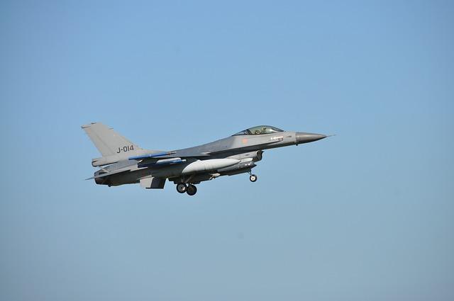 Aircraft, Military, Jet, F16
