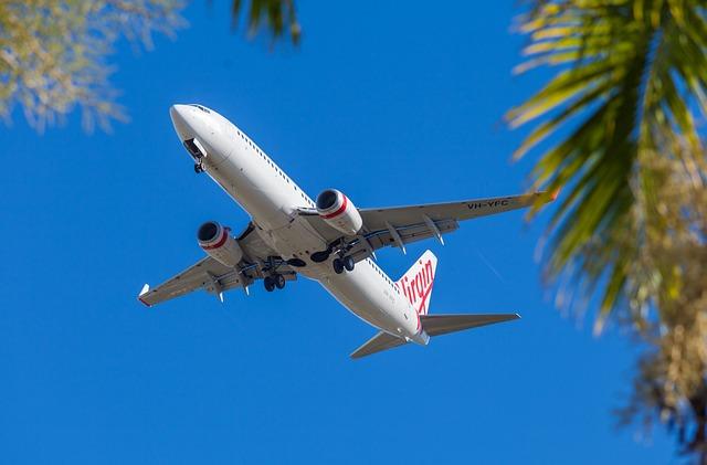Plane, Jet Liner, Air Plane, Virgin Australia