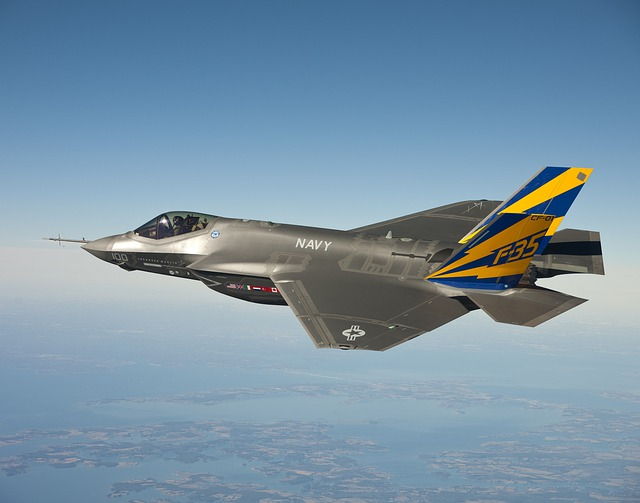 Fighter Jet, Jet, Lockheed Martin F 35 Lightning Ii