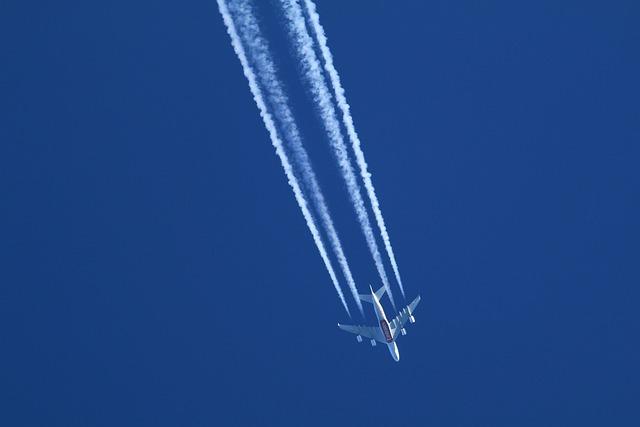 Jet, Sky, Blue, Radiation Plane, Airliner, Aircraft