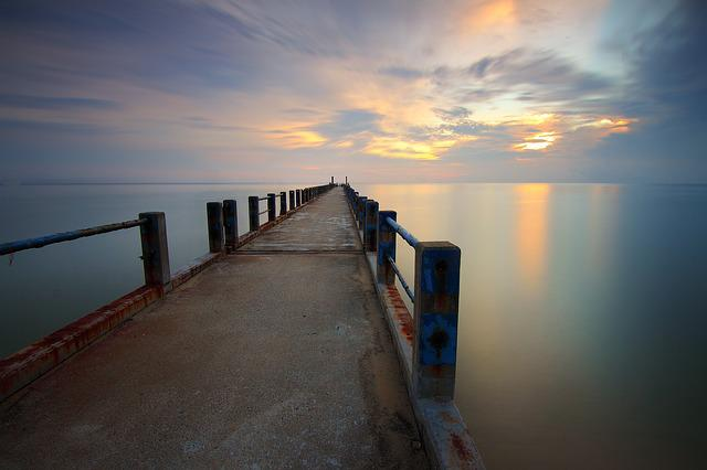 Beach, Dawn, Dusk, Jetty, Lake, Landscape, Light, Ocean