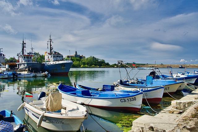 Boats, Port, Jetty, Fishing, Recreational, Sea