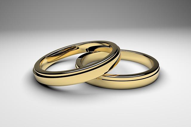 Golden, Ring, Jewellery, Wedding, Rings, Gold, White