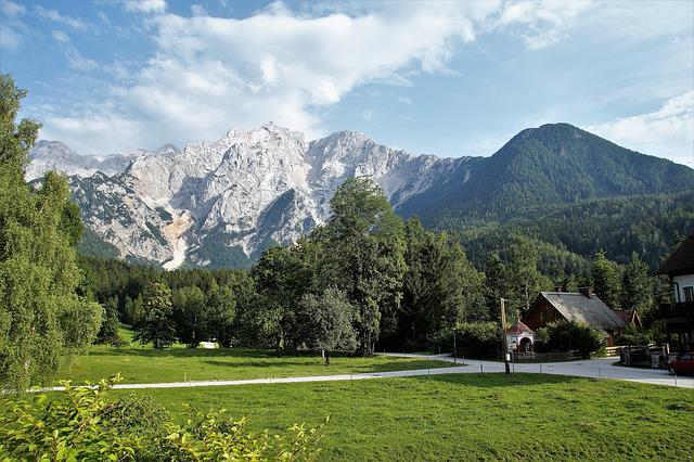 Jezersko, Slovenia, Mountains, Julian Alps, Summer