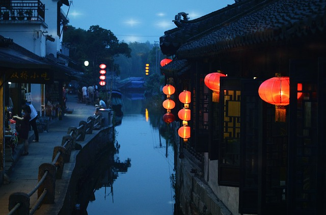The Ancient Town, Jiangnan, Suzhou