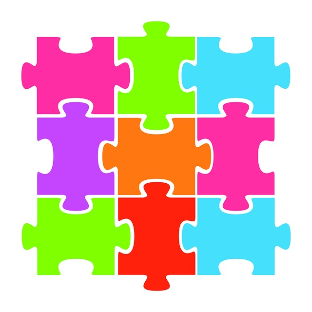 Jigsaw, Puzzle, Colorful, Clipart, Paper