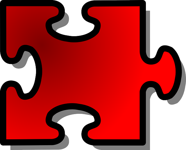 Jigsaw, Puzzle, Piece, Single, Red, Join, Connect, Fit
