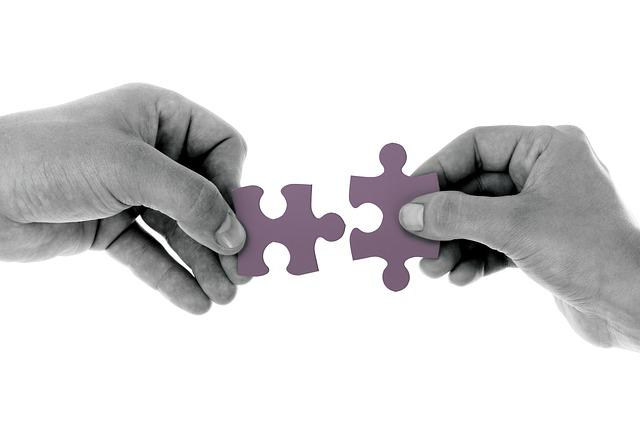 Connect, Jigsaw, Strategy, Puzzle Pieces