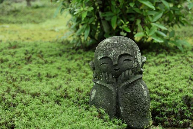 Jizo, Cute, Enkoji Temple, Kyoto