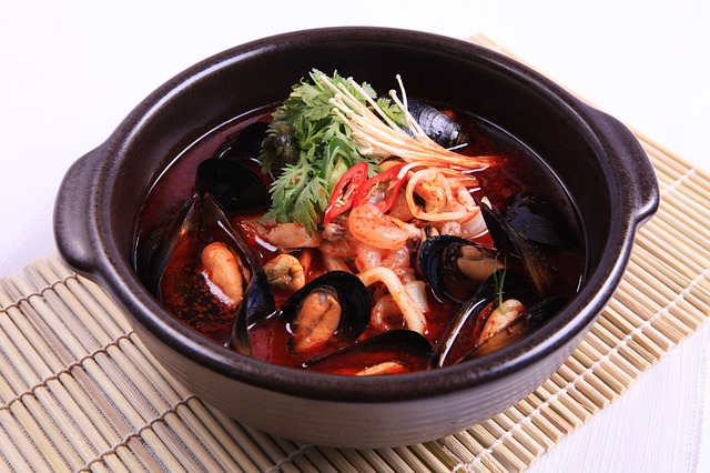 Spicy Seafood, Jjampong, Jjampong Seoul, Korea, Korean