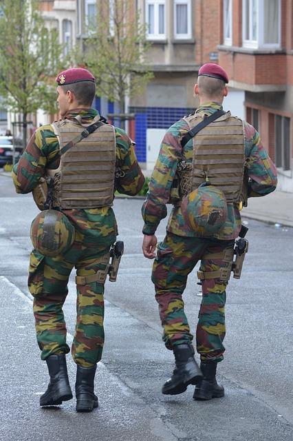Military, Patrol, Uniform, Job, People