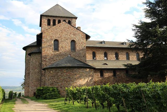 Monastery Church, Church, Basilica, Johannisberg