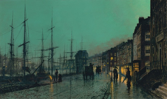 Art, Artwork, John Atkinson Grimshaw, 1881