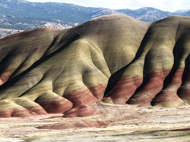 Painted Hills, John Day, Fossil Beds, National Monument