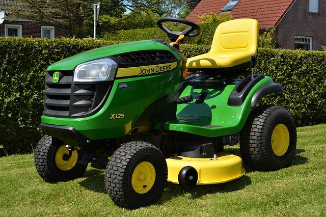 John Deere, John Deere X125, Agriculture, Ride-on Mower
