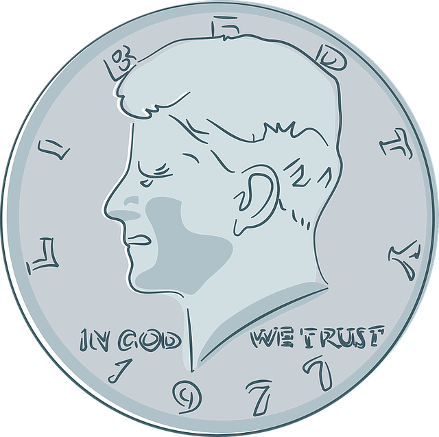 Cents, Coin, Currency, Fifty, Jfk, John Kennedy, Money