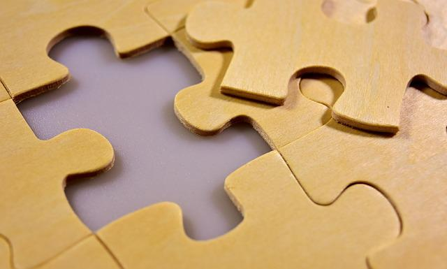 Puzzle, Last Part, Wood, Joining Together, Insert