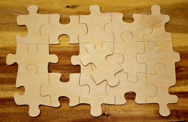 Puzzle, Last Part, Joining Together, Insert, Share, Fit