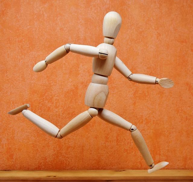 Joint Dolls, Runners, Jog, Marathon, Race, Competition