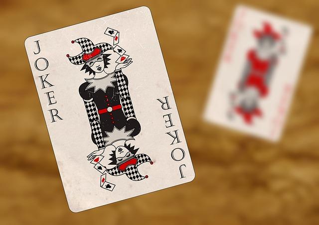 Playing Cards, Joker, Red, Black, Gambling, Luck, Play