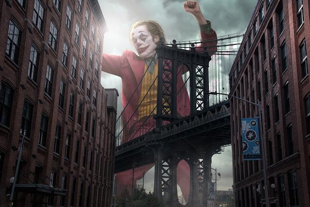 Joker, Fan Art, Brooklyn Bridge, New York