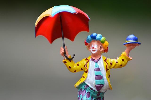 Clown, Funny, Screen, Cute, Fig, Decoration, Joker
