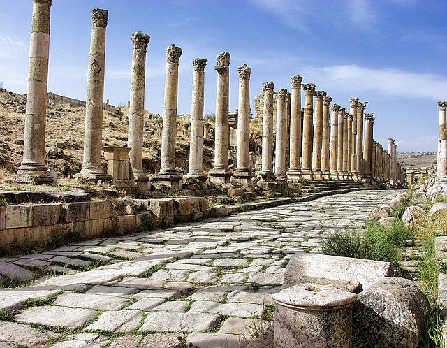 Jerash, Jordan, Ruins, Ancient, Architecture, Roman