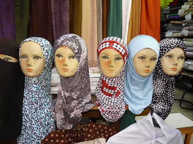 Amman, Jordan, Orient, Veil, Doll, Islam, Headscarf