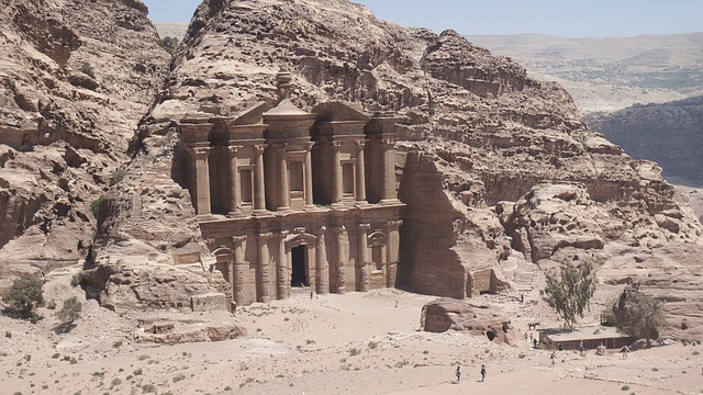 Jordan, Petra, Holiday, Middle East