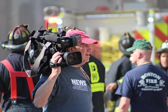 News, Camera, Media, Broadcast, Journalist, Reporter