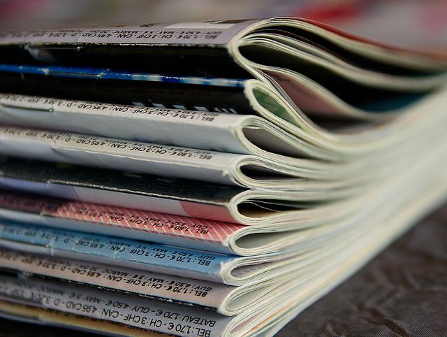 Magazines, Reading, Journals, Newspapers