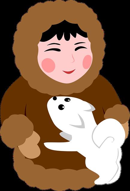 Dog, Eskimo, North, Man's Best Friend, Joy, Pet