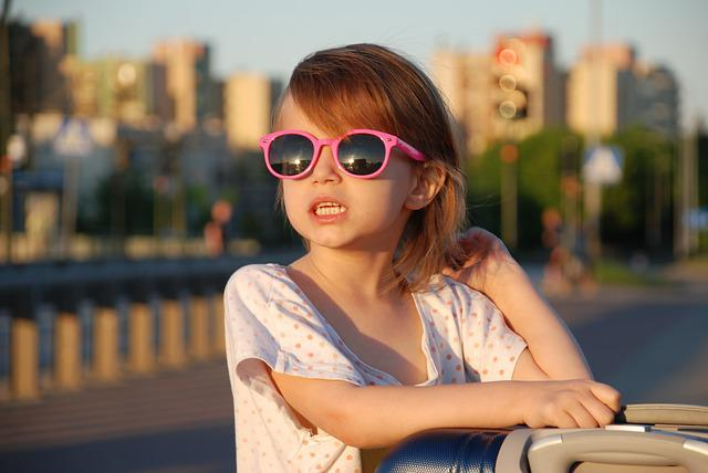 Teeth, Glasses, Emotions, Joy, Child, Bright, Smile