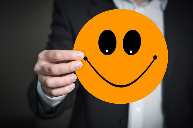 Emoji, Smiley, Smile, Hand, Keep, Presentation, Joy