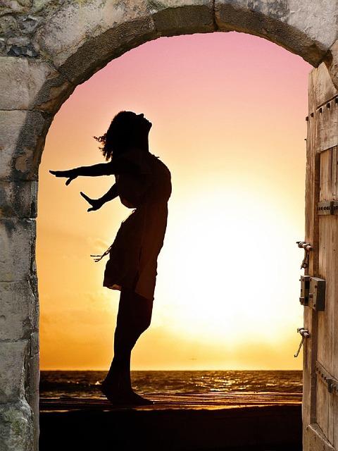 Goal, Door, Freedom, Joy, Luck, Nature, Sky