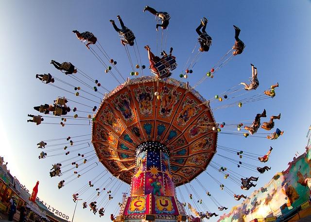 Munich, Oktoberfest, Ride, Carousel, Fun, Joy